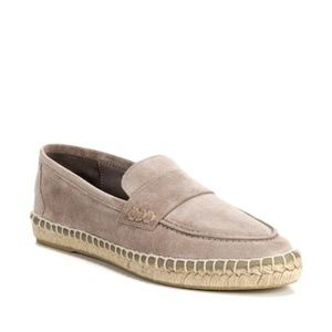 Vince Daria Suede Flat Espadrille Loafers sz 6M